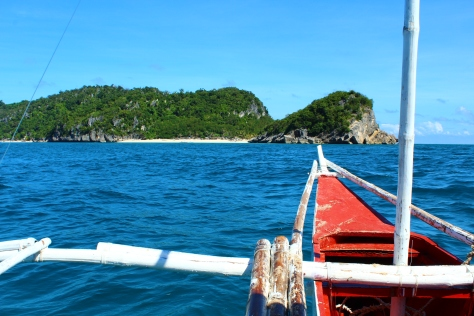 Approaching Antonia Island