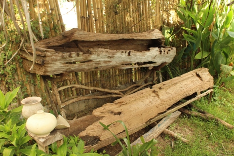 Nong Jofer said that Islas de Gigantes used to serve as the burial grounds of the ancient people of Panay. This coffin displayed at the resort is one of those artifacts that had been dug up. It is now illegal to dig and collect artifacts in the island.