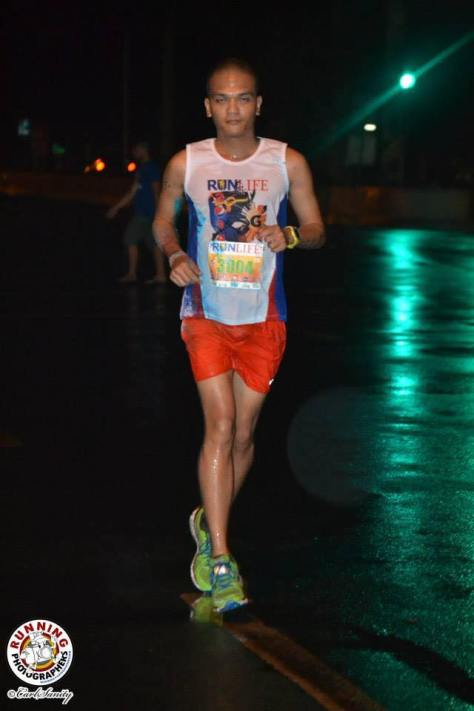 "I was going for the ""I did not have enough sleep"" look. Image courtesy of Running Photographers"
