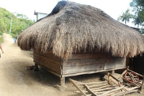 This original hut still standing