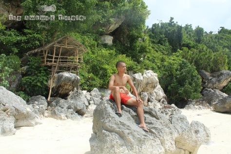 Me at Tinagong Baybay
