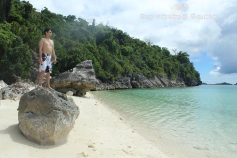 My friend Carlos at Tinagong Baybay